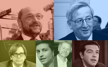 Toppkandidatene - blir en av dem EU-kommisjonens president?