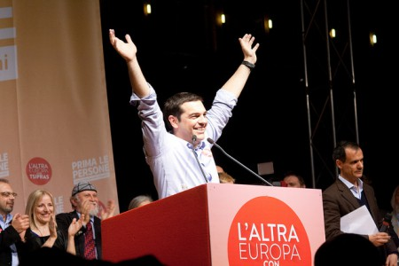 Alexis Tsipras i mai 2014.