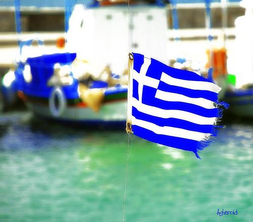Frynsete rykte. Den økonomikse krisen i Hellas truer euro-valutaen og EU-samarbeidet, men grekere flest sliter med korrupsjon i dagliglivet. Foto: CC-Android.