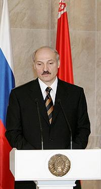 Alexander Lukasjenko, president i Hvite-Russland