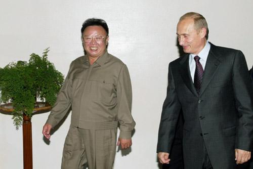 Nye naboer. Kan dette bli EUs nye nabo? Russlands statsminister vil ha frihandelsavtale med EU og fri flyt av varer og tjenester til Vladivostok, Neste stopp er da Nord-Korea og regimet til dikatoren Kim Jong Il. Foto: kremlin.ru/CC