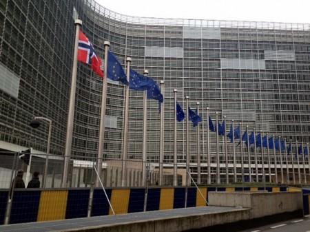 Til topps i Brussel også (foto: Knut Arne Sanden)