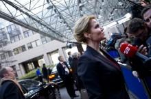 Danmarks statsminister Helle Thorning Schmidt var fornøyd med løsningen på EU-toppmøtet. Nå får hun sjansen til å sette dagsorden i EU det neste halvåret. Foto: EU-kommisjonen)
