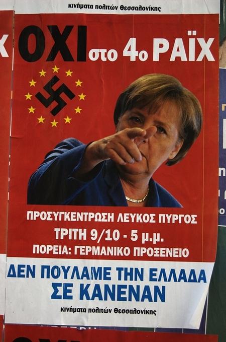 "Akt 5: ""Hitlingen"" av Merkel. (Foto: Glyn Nelson. CC: by-nc-sa)."