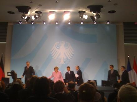 EU-lederne under vårens krisemøte i Berlin. Nå er tallene på bordet. Foto: Dag Yngland