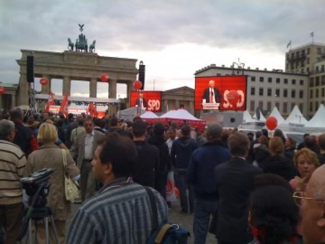 Solnedgang over sosialdemokratene