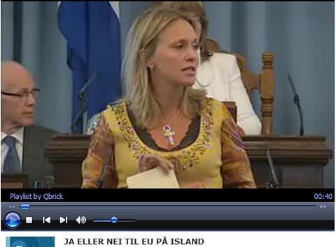 Fra stemmegivningen (foto: NRK/Alltinget)