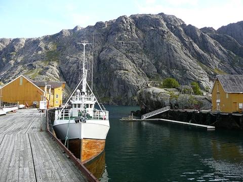 Fra Nusfjord i Lofoten (foto: Sberla, CC: by)