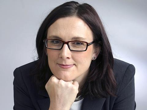 Cecilia Malmström, Sveriges neste EU-kommissær, får ikke mange kvinner med seg (foto: Hans Doverholm)