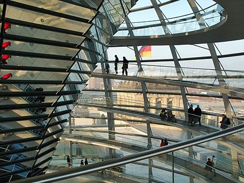 Mer makt til folkevalgte? Riksdagsbygningen i Berlin (foto: Olav A. Øvrebø)
