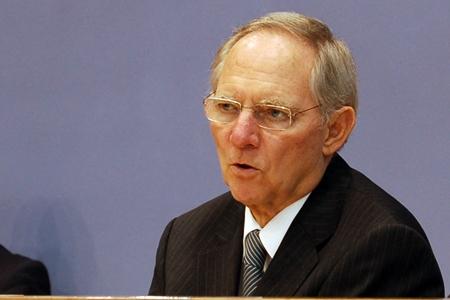 Finansminister Wolfgang Schäuble: Mer å rutte med (foto: Olav A. Øvrebø)