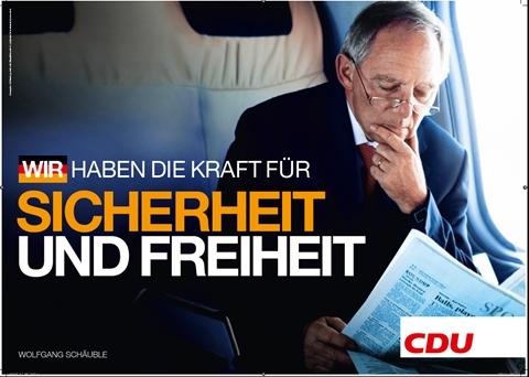 Originalen: Garantist for sikkerhet og frihet (ill: CDU/L. Chaperon)