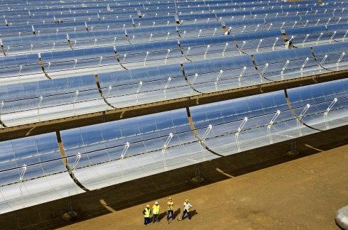 Soltermisk anlegg (foto: Solar Millennium AG)