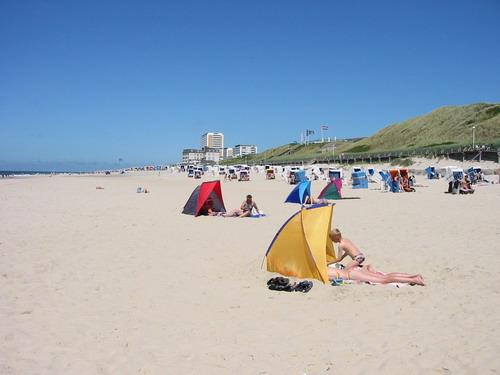 Stranden på Sylt før mobilstormen
