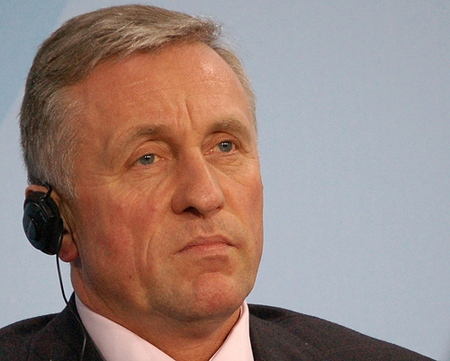 Mirek Topolanek, statsminister uten tillit (foto: oaø, CC-lisens: by-nc)