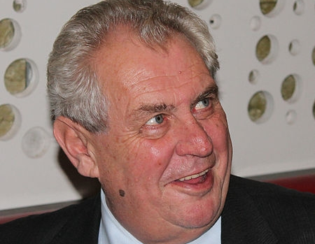 Milos Zeman (foto: Wikimedia Commons. CC: by-sa)