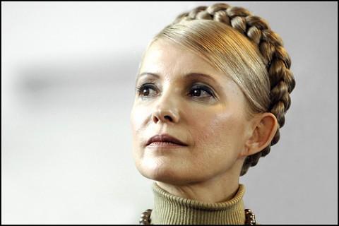 Syv års fengsel? Den tidligere ukrainiske statsministeren Julia Timoshenko er dømt til syv års fengsel og det kan bli lenge til hun igjen kommer på besøk i Europa. Her ved et besøk i Europaparlamentet i 2008.. Foto: Europaparlamentet